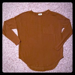 Old Navy long sleeve fall color!!